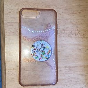 VS PINK phone clear case